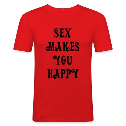 red sexe - T-shirt près du corps Homme