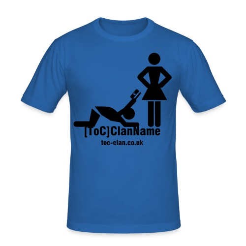 ToC Beg4It T-Shirt. Available in a choice of colours. - Men's Slim Fit T-Shirt