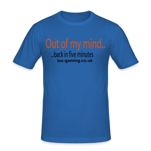 ToC Out of my mind T-Shirt. - Men's Slim Fit T-Shirt