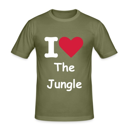 i love the jungle (slim fit) - slim fit T-shirt