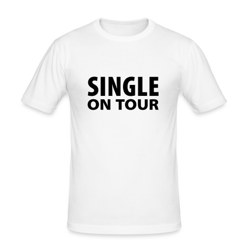 Single On Tour (Mens) - Men's Slim Fit T-Shirt