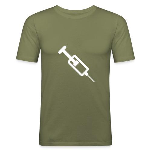 SHOT - Slim Fit T-skjorte for menn