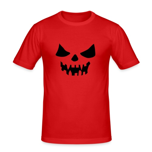 Scary Face - Men's Slim Fit T-Shirt