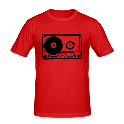 Cassette - Men's Slim Fit T-Shirt