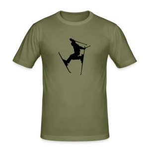 Shirt Ski jump - Männer Slim Fit T-Shirt