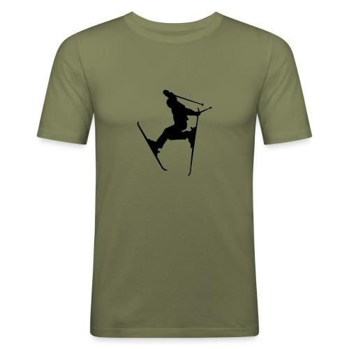 Shirt Ski jump - Männer Slim Fit T-Shirt