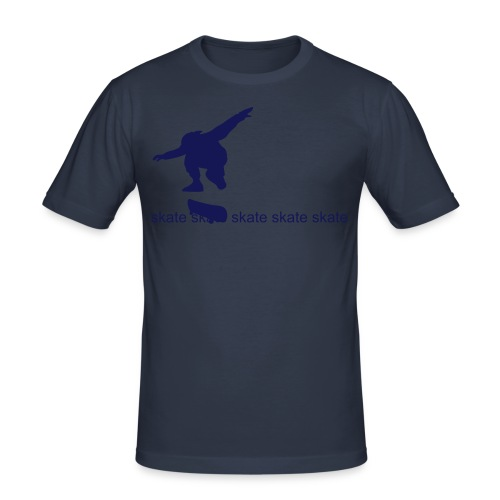 Skate . . .  - Men's Slim Fit T-Shirt