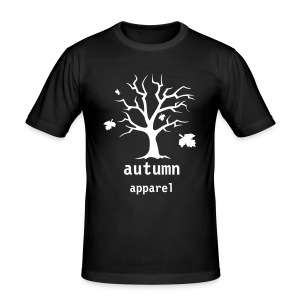 autumn slim fit tee - Men's Slim Fit T-Shirt