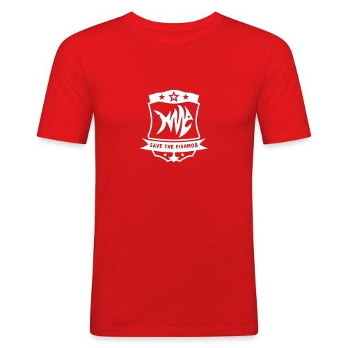 Save the Fishmob 1 - Männer Slim Fit T-Shirt
