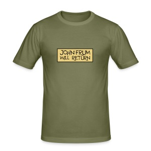 John Frum Will Return! Shirt - Men's Slim Fit T-Shirt