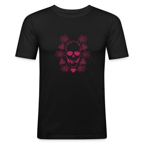 Reel skull - Männer Slim Fit T-Shirt