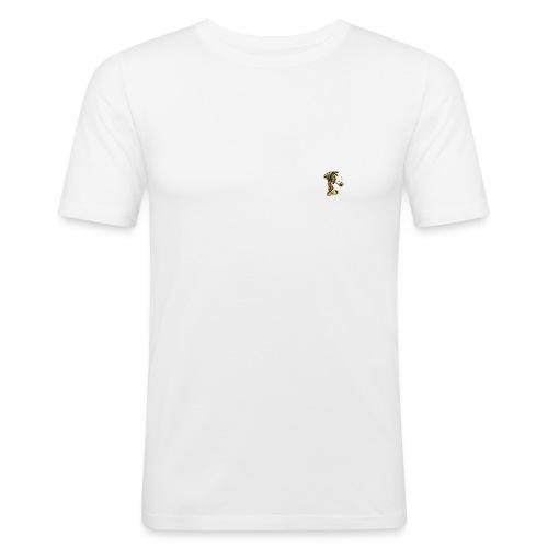 white bobby - T-shirt près du corps Homme