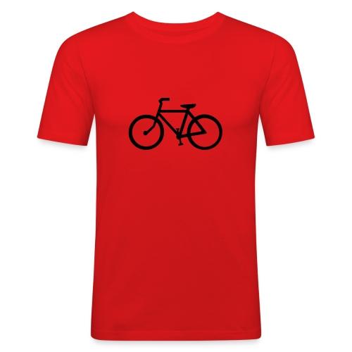 Red Short Sleeve T-Shirt - Men's Slim Fit T-Shirt