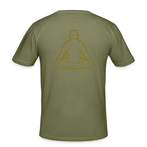 Buddha Grey - Men's Slim Fit T-Shirt