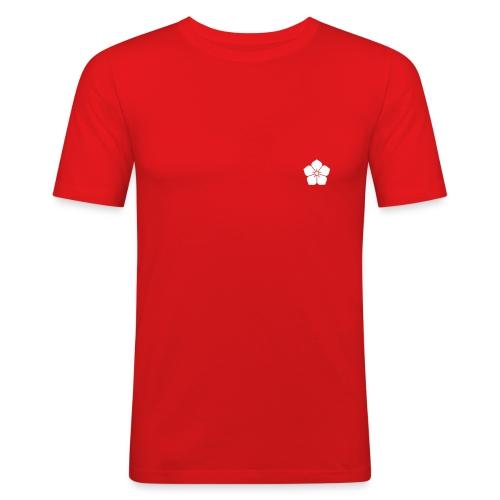 morning red - Maglietta aderente da uomo