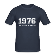 T-Shirts ~ Männer Slim Fit T-Shirt ~ T-Shirt 1976