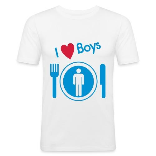 I LOVE YOU BOY - T-shirt près du corps Homme