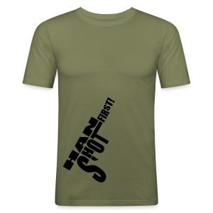Han shot first! - Men's Slim Fit T-Shirt