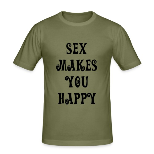 brown sexe - T-shirt près du corps Homme