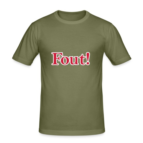 Fout! - slim fit T-shirt