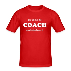 i'm the Coach - handballmania.tk (more colours) - Men's Slim Fit T-Shirt