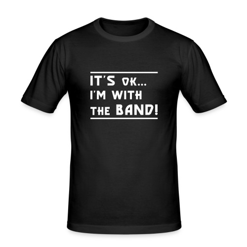 im with the band - Men's Slim Fit T-Shirt