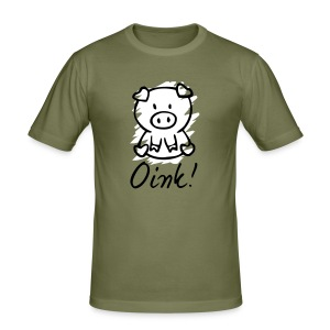 Oink! - slim fit T-shirt