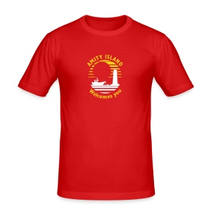 Amity Island - Men's Slim Fit T-Shirt