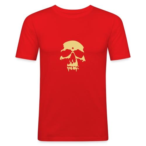 Männer Skull - Männer Slim Fit T-Shirt