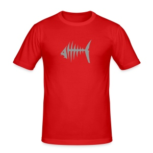Piranha T-Shirt - Männer Slim Fit T-Shirt