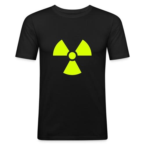 Atomic - Maglietta aderente da uomo