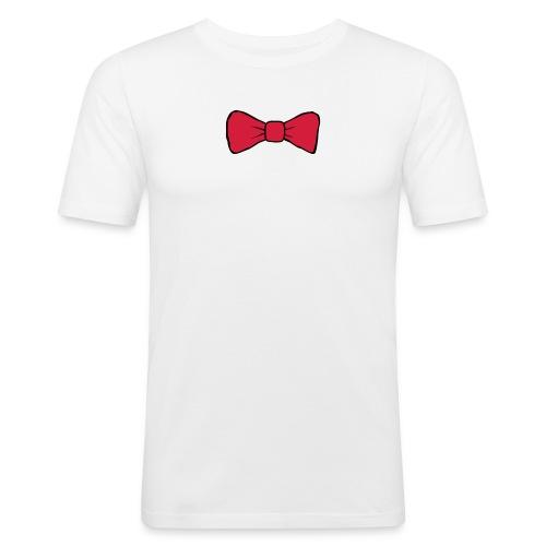 Pink boe tie men's tee - Men's Slim Fit T-Shirt