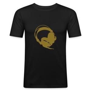 T-Shirt Gouden Logo - slim fit T-shirt