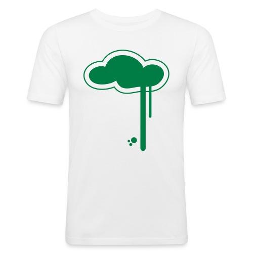 Cloudy - Men's Slim Fit T-Shirt