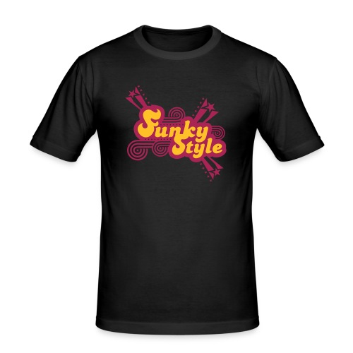 Funky Style - Männer Slim Fit T-Shirt