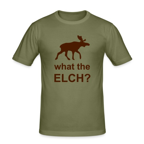 what the elch? - Men's Slim Fit T-Shirt