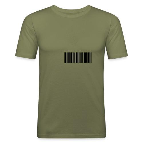 code barre - T-shirt près du corps Homme