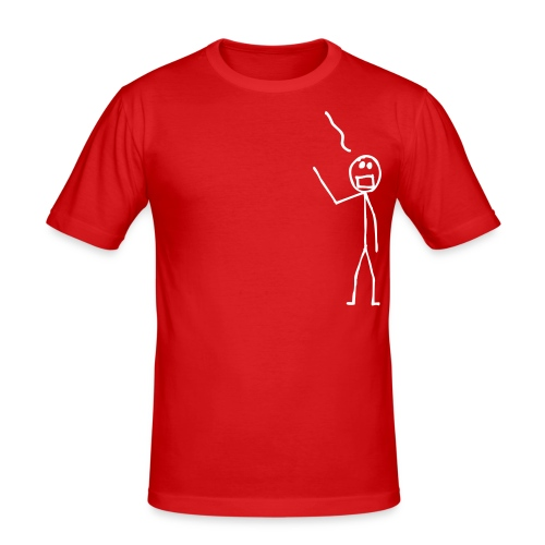 Stick Man - Men's Slim Fit T-Shirt