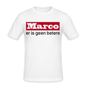 Marco - er is geen betere - slim fit T-shirt