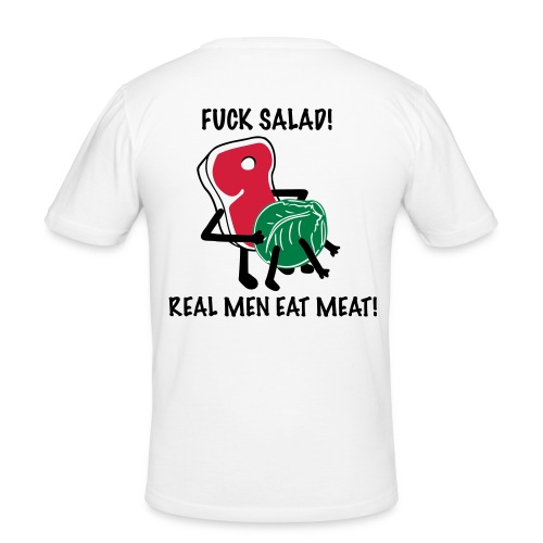 Fuck Salad Tee - Männer Slim Fit T-Shirt
