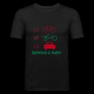T-shirts ~ slim fit T-shirt ~ LiL slim fit/flock