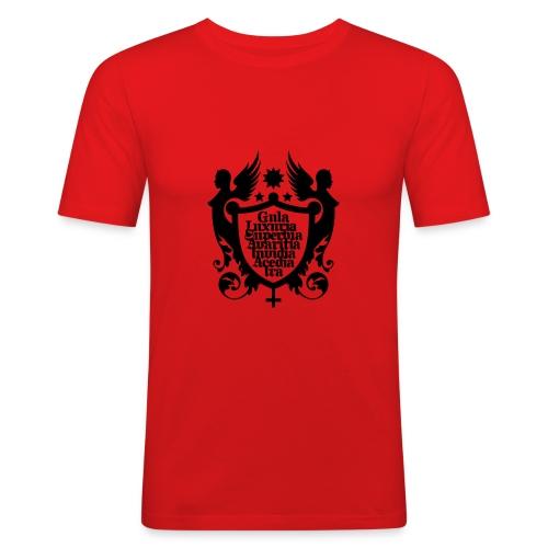 7 Todsünden - Männer Slim Fit T-Shirt