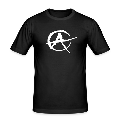 Anarchie - Männer Slim Fit T-Shirt