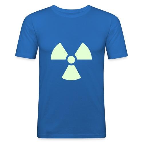 Fluorescente 2 - Camiseta ajustada hombre