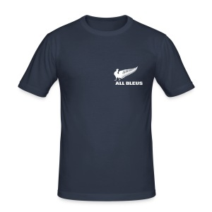 Tee shirt Rugby - All Bleus - Tee shirt près du corps Homme