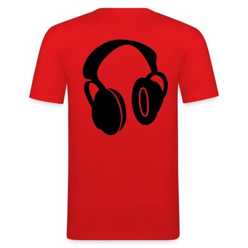 T shirt fashion dj  - T-shirt près du corps Homme