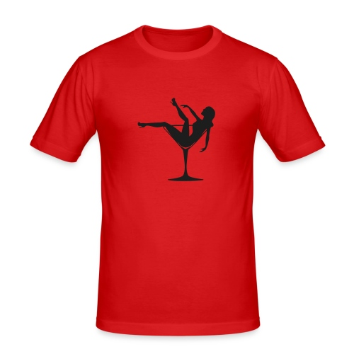Lady Drink - Slim Fit T-shirt herr