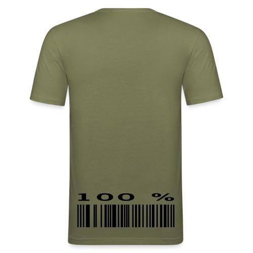 Virallinen Myyräpaita - Miesten tyköistuva t-paita