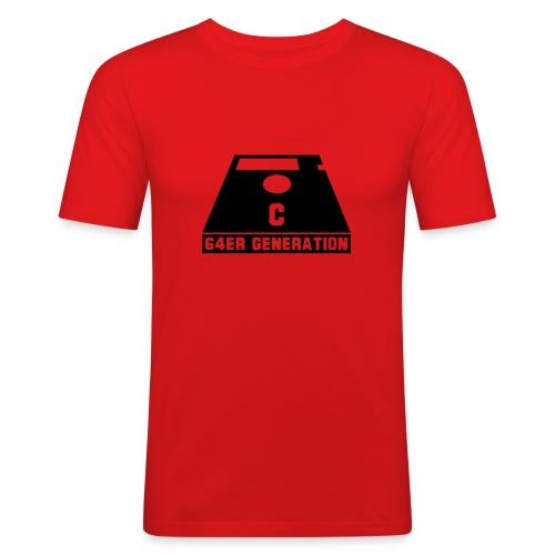 64er Diskette - Männer Slim Fit T-Shirt