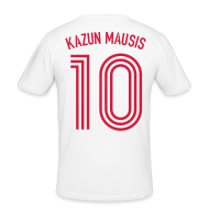 T-Shirts ~ Männer Slim Fit T-Shirt ~ KAZUN MAUSIS 10 (Away)